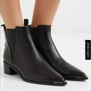 Acne jensen leather booties